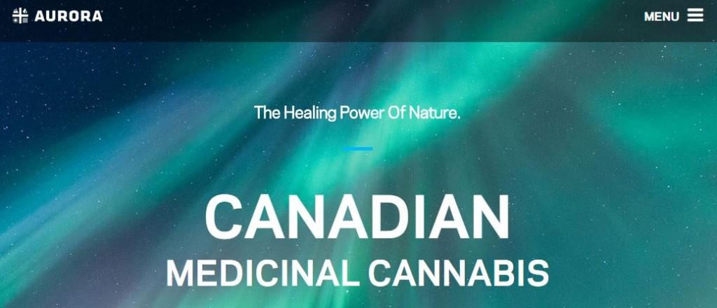 Aurora cannabis marihuana medicinal