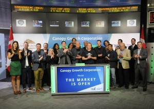 TMX Group Limited-Canopy Growth Corporation marihuana cannabis medicinal