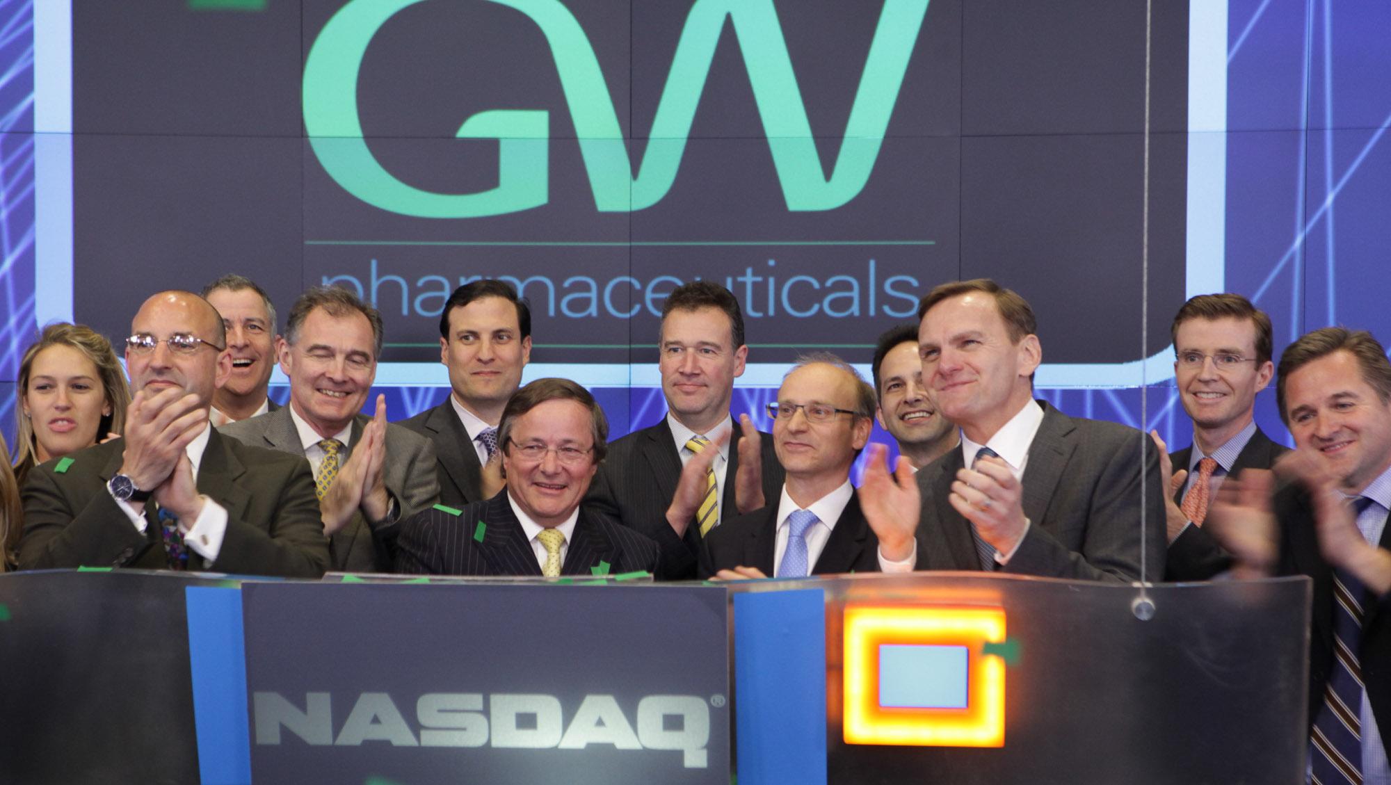 GW pharmaceuticals marihuana cannabis medicinal